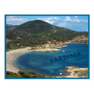 Sardinien-Insel Postkarte