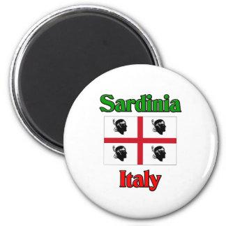 Sardinien Italien Runder Magnet 5,1 Cm