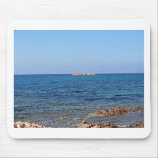 Sardinien-Meerblick im Sommer Mousepad