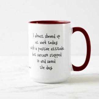 Sarkasmus-Kaffee-Tasse Tasse