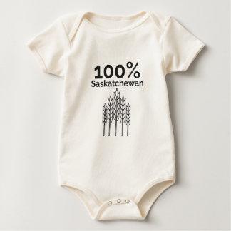 Saskatchewan-Bauer Baby Strampler