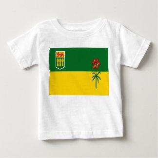 Saskatchewan-Flagge Baby T-shirt