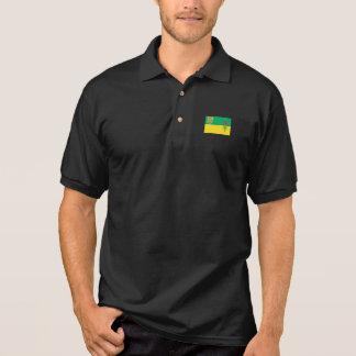 SASKATCHEWAN-Flagge Polo Shirt