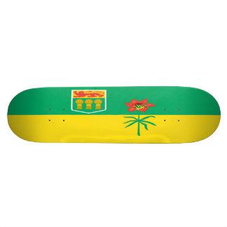 Saskatchewan-Flaggen-Skateboard Personalisierte Skateboarddecks