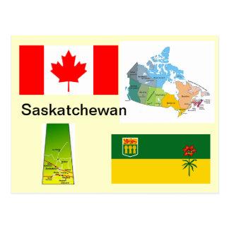 Saskatchewan Kanada Postkarte