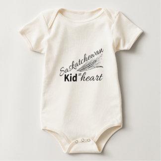 Saskatchewan-Kind am Herzen Baby Strampler