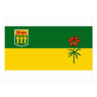 Saskatchewan Postkarte