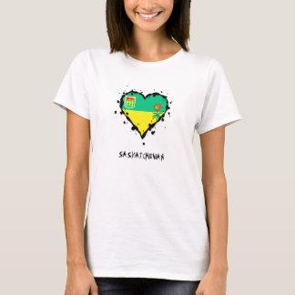 Saskatchewan-Spritzer-Herz T-Shirt