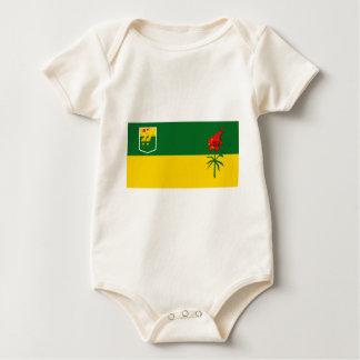 SaskatchewanFlagge Baby Strampler