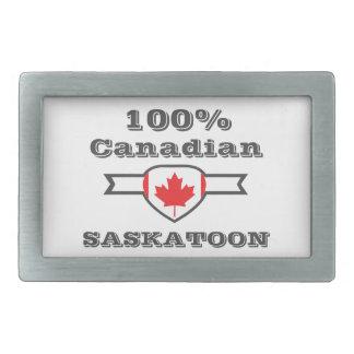Saskatoon 100% rechteckige gürtelschnalle