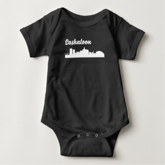 Saskatoon-Skyline Baby Strampler