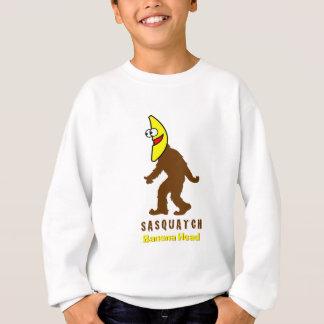 Sasquatch Bananen-Kopf Sweatshirt