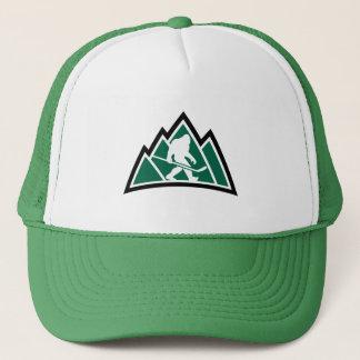 Sasquatch Hockey-Fernlastfahrer-Hut Truckerkappe