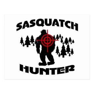 Sasquatch Jäger Postkarte