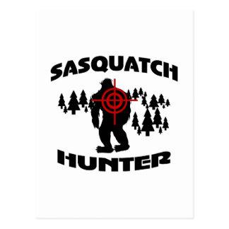 Sasquatch Jäger Postkarten