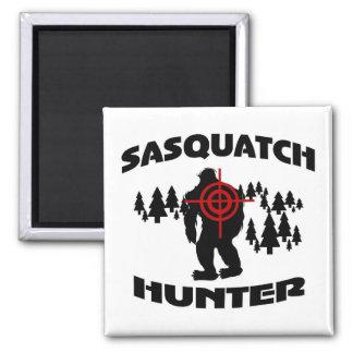 Sasquatch Jäger Quadratischer Magnet