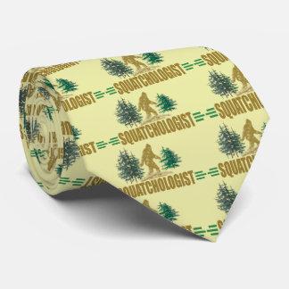 Sasquatch - lustiges Squatchologist Individuelle Krawatten