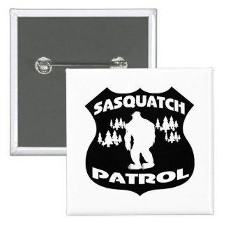 Sasquatch Patrouillen-WaldAbzeichen Buttons