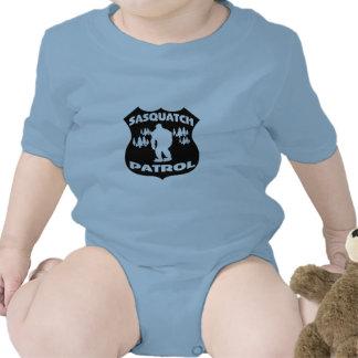 Sasquatch Patrouillen-WaldAbzeichen Baby Strampler