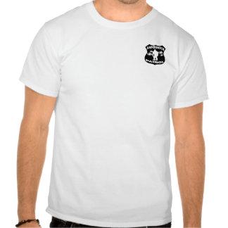 Sasquatch Patrouillen-WaldAbzeichen T Shirt