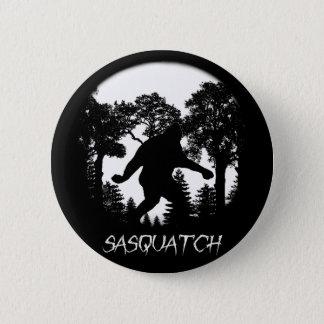 Sasquatch Silhouette Runder Button 5,1 Cm
