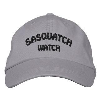 Sasquatch Uhr gestickte Kappe