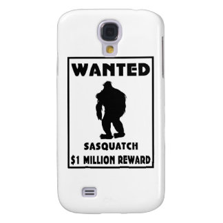 Sasquatch wollte Plakat Galaxy S4 Hülle