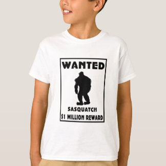 Sasquatch wollte Plakat T-Shirt