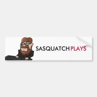 SasquatchPlays Autoaufkleber