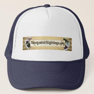 sasquatchsightings.org-Logohut Truckerkappe