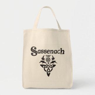 Sassenach - keltische Distel Einkaufstasche
