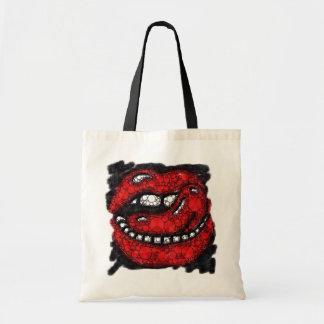 Sassy Lippengrunge-Spritzer-Budget-Taschen-Tasche