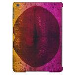 Sassy Lips Grunge Art iPad Air Cover