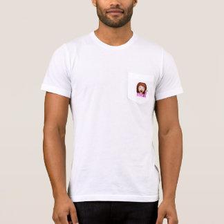 sassy Mädchen emoji niedliches T-Shirt