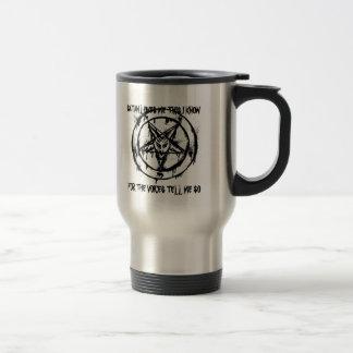 Satan Lieben ich Reise-Tasse Edelstahl Thermotasse