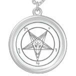 Satanische Baphomet Halskette
