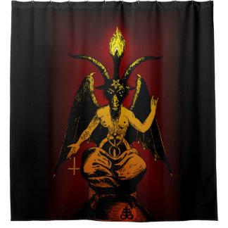 Satanische Ziege ENORMES 6' x6 Tapisserie Duschvorhang