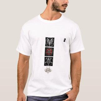 Satanischer Belial und Saturn T-Shirt