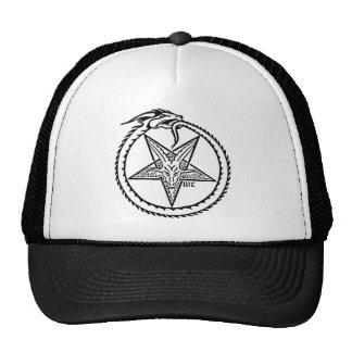 satanischer Fernlastfahrerhut Trucker Cap