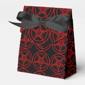 Satanisches Baphomet Geschenkkarton