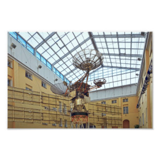 Satelitte, Kommunikationen Museum, St. Petersburg Fotodruck