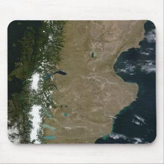 Satellitenansicht der Patagoniaregion Mousepad