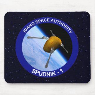 Satellitenauftrag-Flecken Idahos Spudnik Mousepad