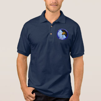 Satellitenauftrag-Flecken Idahos Spudnik Polo Shirt