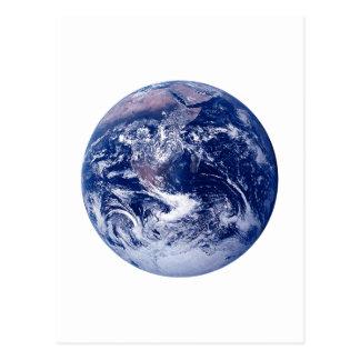 Satellitenerde Postkarte