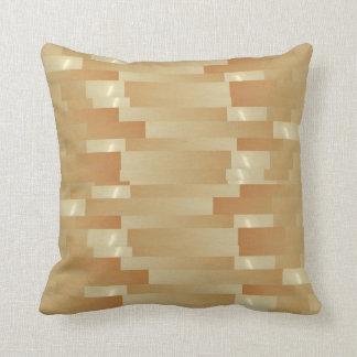 Satin-Silk goldene Streifen - Schatten Art101 Kissen