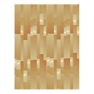 Satin-Silk goldene Streifen - Schatten Art101 Postkarte