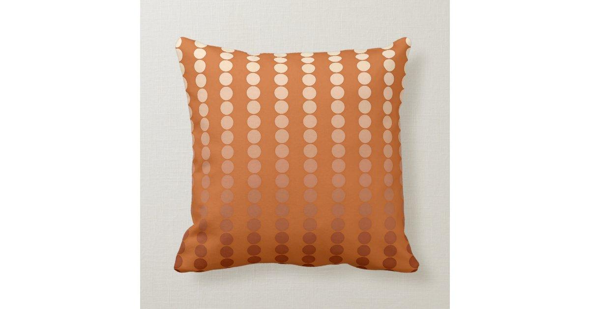 satinpunkte rost und kupfer kissen zazzle. Black Bedroom Furniture Sets. Home Design Ideas