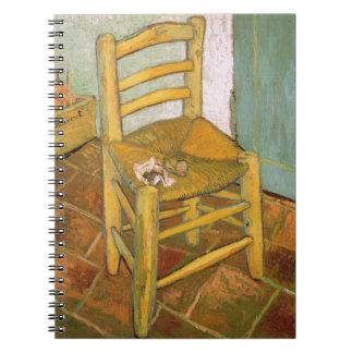 Sattel von Van Gogh - Notizbuch Notizblock