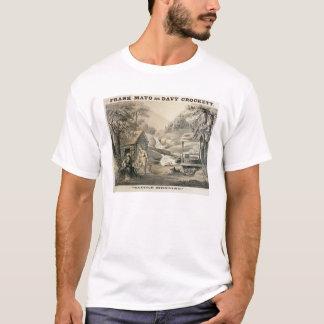 """""""Satteln Sie Ausbessern"""", Plakat für """"Davy T-Shirt"""
